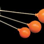 ลูกลอย สีส้ม ก้านทองเหลือง แข็งแรง